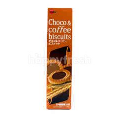 Bourbon Biskuit Cokelat dan Kopi