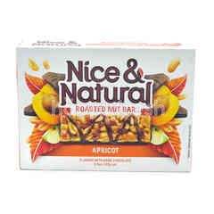 Nice & Natural Roasted Nut Bar- Apricot