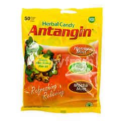 Antangin Herbal Candy Honey Ginger Mint Honey Flavors