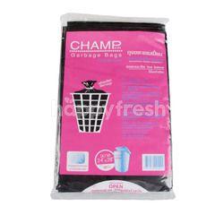 แชมป์เปี้ยน ถุงขยะสีดำ 24 X 28 นิ้ว