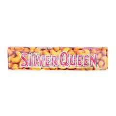 Silver Queen Cokelat Susu Kacang Mente