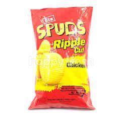 ETA Spuds Ripple Cut- Chicken Potato Chips