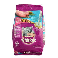 Whiskas Junior Ocean Fish Flavored Kitten Food with Milk