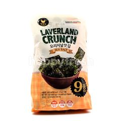 Manjun Laverland Crunch Sea Salt Flavor Seaweed