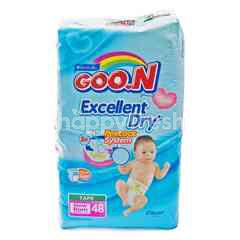 Goo.N Diapers with Tape for New Born Baby