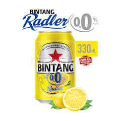 Bintang Radler Lemon 0.0% Alcohol Carbonated Malt Drink