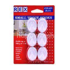 Rex Small Vogue Hooks (6 Pieces)