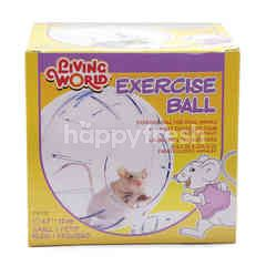 LIVING WORLD Small Animals Exercise Ball