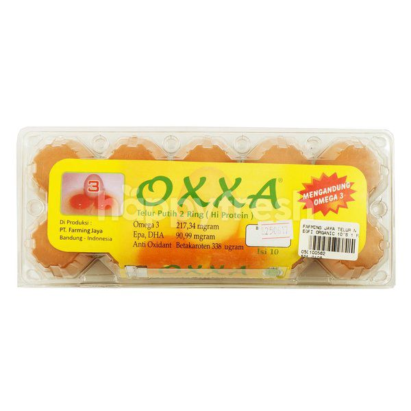 Farming Jaya Oxxa 2 Rings White Egg