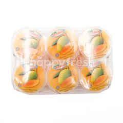 Jeram's Mango Pudding With Nata De Coco