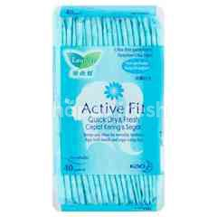 Laurier Active Fit Quick Dry & Fresh Fresh Floral Perfumed