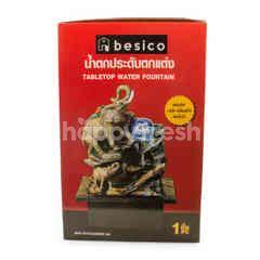 เบสิโค น้ำตกประดับตกแต่ง พร้อมไฟ LED เปลี่ยนสีได้และปั๊มน้ำ ขนาด 21 X 17.50 X 24.50 ซม.