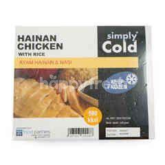 Simply Cold Ayam Hainan dengan Nasi