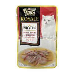 Purina Fancy Feast Royale Broths Bonito, Surimi & Anchovies