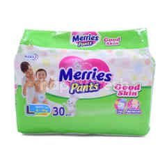 Kao L Sizes Merries Pants Diapers (34 Pieces)