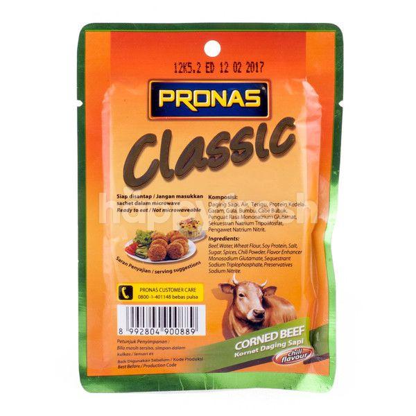 Pronas Classic Corned Beef Chili