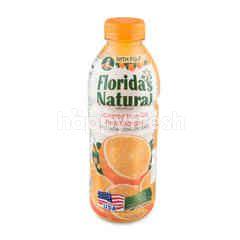 ฟลอริด้าส์  เนเชอรัล น้ำส้มฟลอริด้า 100% ผสมเนื้อส้ม