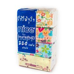 Nice Facial Tissue Soft Pack 220 Sheets