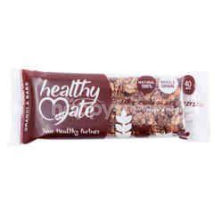 Healthy Mate Granola Bar dengan Cokelat Pretzel