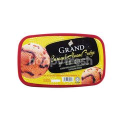 Grand Caramel Almond Fudge Ice Cream