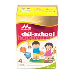 Morinaga Chil School Tahap 4 Susu Bubuk Rasa Cokelat