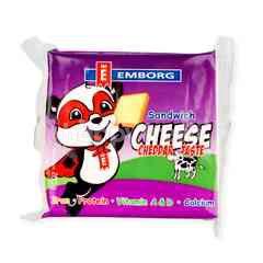 Emborg Sandwich Cheese Slices Cheddar Taste
