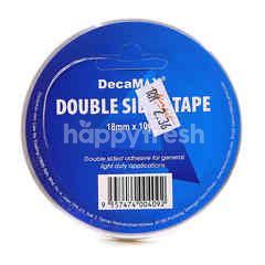 Decamax 18mm x 10y Double Side Tape