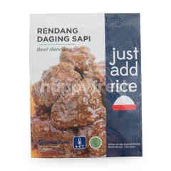 Just Add Rice Rendang Daging Sapi