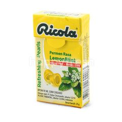 Ricola Refreshing Pearls LemonMint Candy