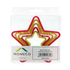 HomeCo Living Cake Cetakan Kue Bentuk Bintang