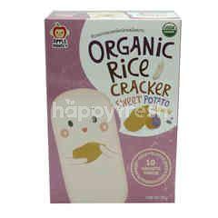 APPLE MONKEY Organic Rice Crackers Sweet Potato Flavour