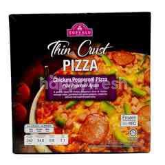 TOPVALU Thin Crust Chicken Pepperoni Pizza