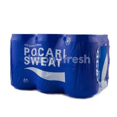 Pocari Sweat Isotonic Water (6 kaleng)