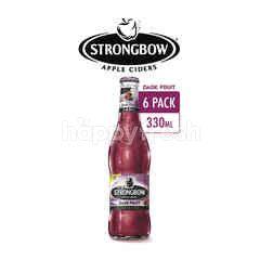 Strongbow Minuman Sari Buah Apel Fermentasi Rasa Blackcurrant
