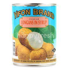 Yifon Premium Longans In Syrup