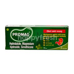 Promag Stomachache Medicine with Mint Flavor