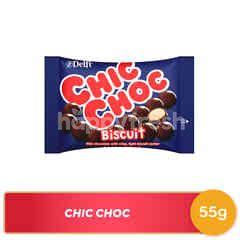 Delfi Chic Choc Biskuit Cokelat Susu