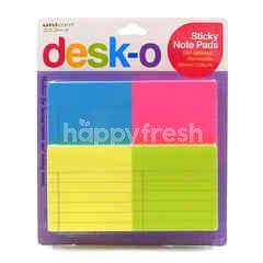 Unicorn Desk-O Sticky Note Pad