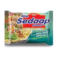 Mie Sedaap Special Meatball Instant Soup Noodles