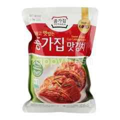 Chongga Mat Kimchi Cut Cabbage Kimchi