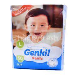 Nepia Genki L 9-14Kg Baby Pants (50 Pieces)