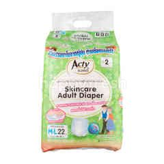Acty Skincare Adult Diapers Size M-L