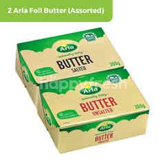 2 Arla Foil Butter (Assorted) and get Arla Prosperity Carrier Bag