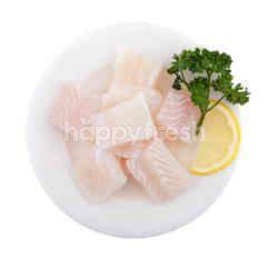 ฟู้ดไดอารี่ เนื้อปลาแพนกาเซียส ดอร์รี่หั่นเต๋า