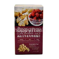 Cheong Hoong Bentong Highland Ginger Red Date Concentrate Juice