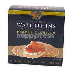 Waterthins Pepper & Chives