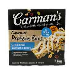 Carman's Greek Style Yogurt and Berry Gourmet Protein Bars