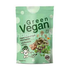 Green Vegan Organic Mushroom Snack Mixed Vegetables