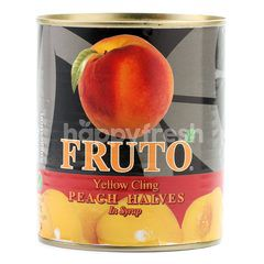 Fruto Yellow Cling Peach Halves