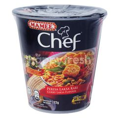 Mamee Chef Curry Laksa Flavour Instant Noodle